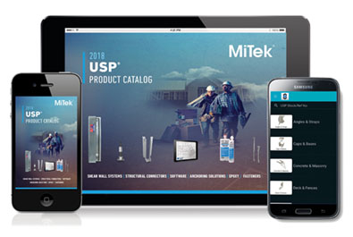 USP Product Catalog app